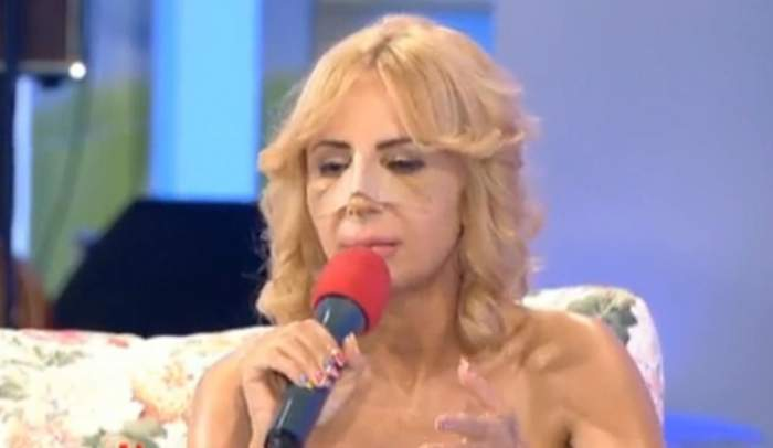 Daniela Gyorfi bagă în sperieţi telespectatorii. A apărut într-o emisiune desfigurată şi a fost criticată dur!