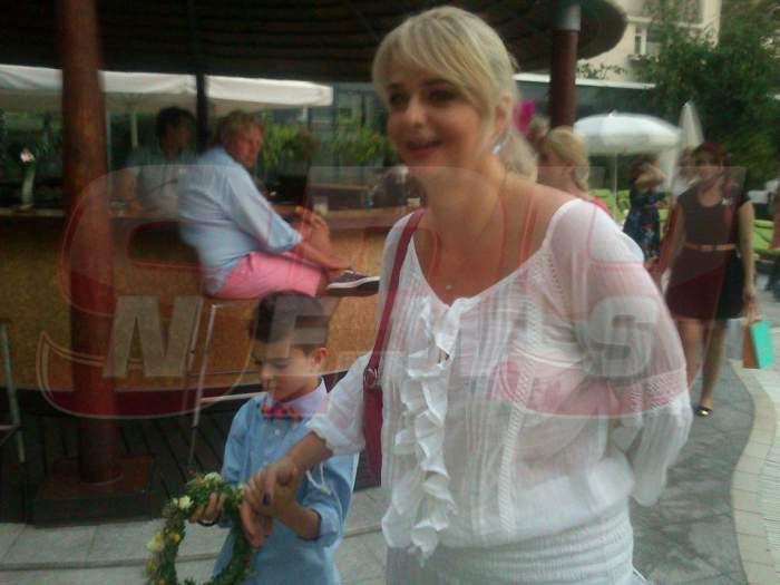 Iuliana Marciuc nu îşi mai încape în piele de bucurie. Fiul ei şi al lui Adrian Enache a luat premiul întâi