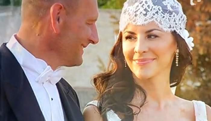 Nuntă de milioane la Snagov! Viorel Cataramă şi Adina Alberts s-au căsătorit. Imagini fascinante de la eveniment / Video