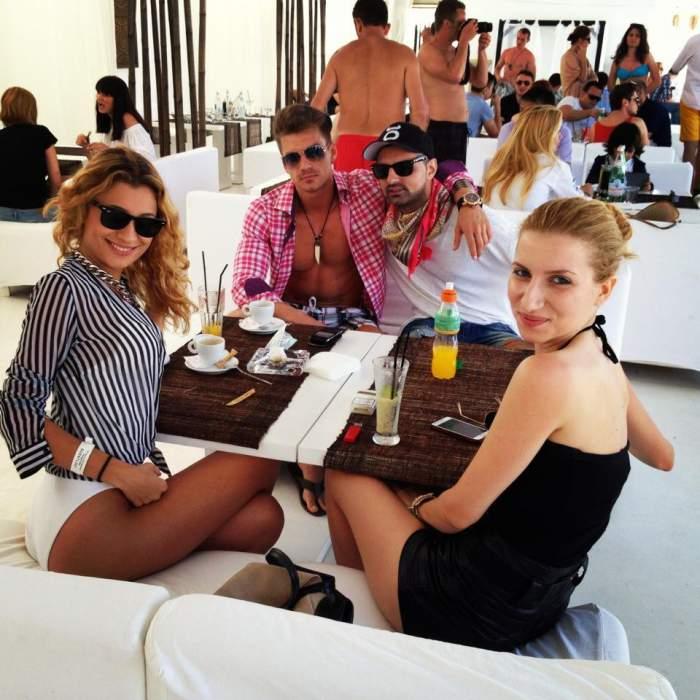 Paris Hilton, păzea! O bunăciune de la noi te întrece la distracţii! Uite cum se destrăbălează o fostă blondă a lui Bote! / Galerie foto