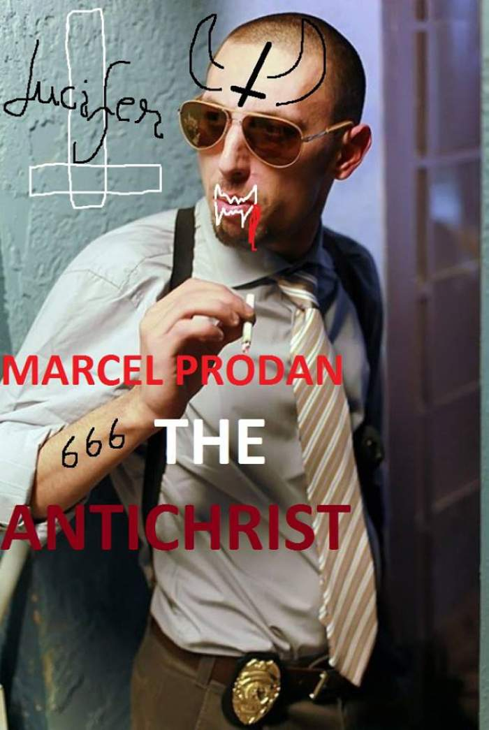 Impresarul bătăuş, transformat în Antichrist! Fanii Alexandrei Stan îl trimit pe Marcel direct în iad!