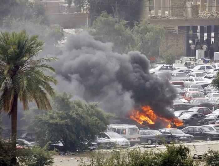 Bombardament în Irak. Zeci de morţi şi răniţi