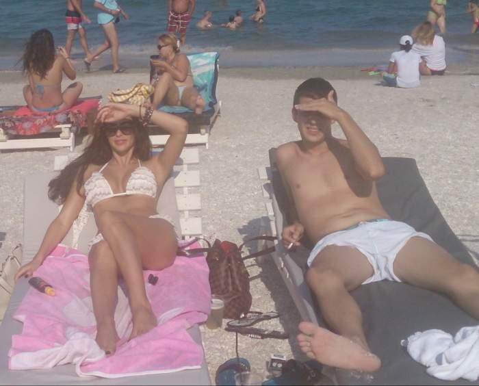Bianca Jurcă a ieşit la plajă cu un alt bărbat. Mitoşerule, ce spui despre asta?