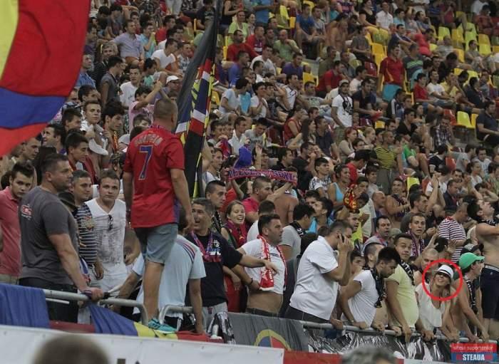 Cea mai frumoasă suporteriţă a Stelei trăieşte cu sufletul la gură în aşteptarea deciziei UEFA! Galerie foto