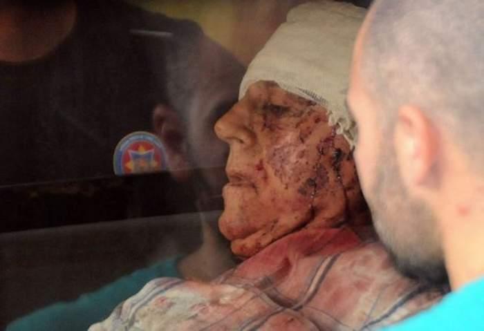 """Gest cutremurător din """"autocarul groazei"""". Un bunic a plătit cu viaţa salvarea nepotului său. Vezi întreaga poveste!"""