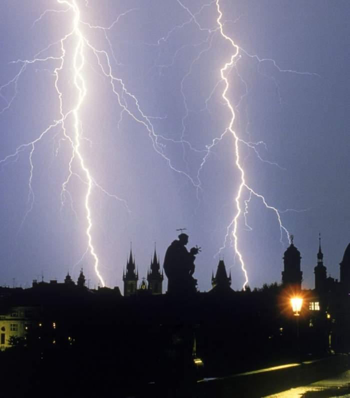 Atenţionare cod galben de furtună. Vezi zonele afectate!