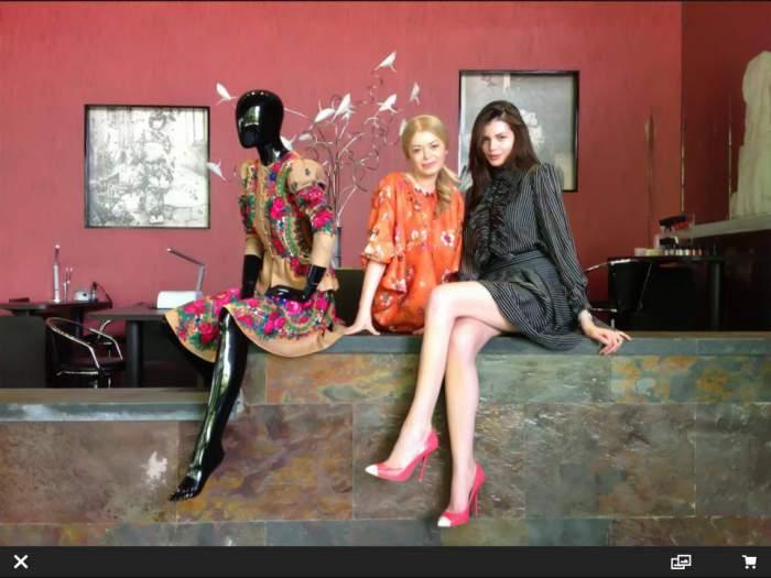 Monica Gabor nu trebuie să dea bani pe haine în România. A făcut o afacere perfectă şi le primeşte gratuit