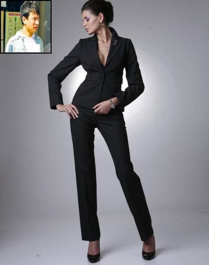 """Monica Gabor: """"Mr. Pink mi-a spus de la prima întâlnire că sunt iubirea vieţii lui"""". Află cum îl alintă pe chinez. O să te amuze"""