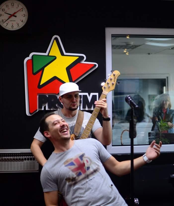 """Ştefan Stan, concert în studio radio! Şi-a lansat noua melodie, """"Domnişoare"""""""