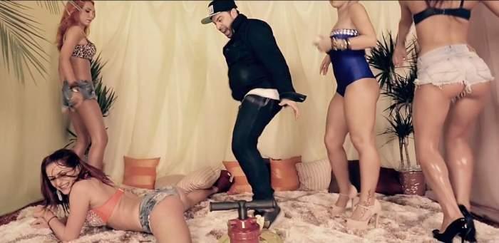 Florin Salam a lansat un videoclip bombă! Aşa ceva vezi doar în filmele porno! / Video