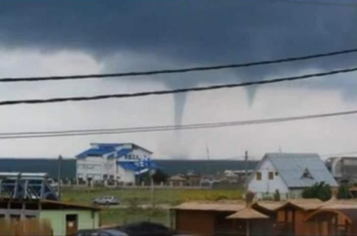 Fenomenul de la Vama Veche a fost într-adevăr tornadă? Vezi ce spun specialiştii!