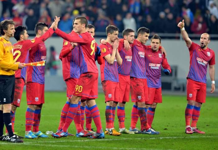 Steaua-Dinamo TbilisI în turul 3 al UEFA Champions League