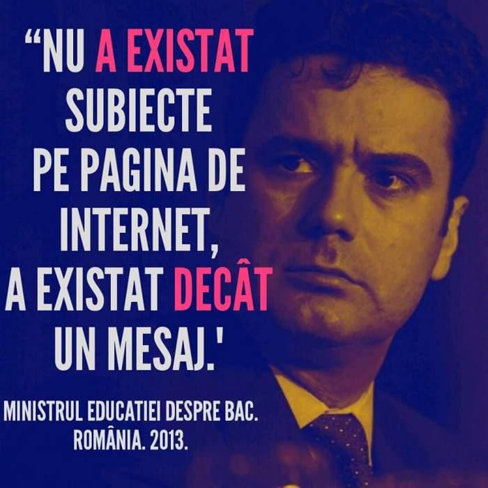 """Mihai Morar: """"România. Ţara în care nici Ministrul Educaţiei nu ar promova Bacalaureatul"""""""