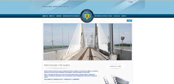 Site-ul Ministerului de Transporturi a fost atacat de Hackeri