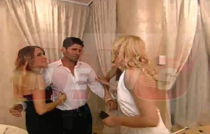 Urmărire ca în filmele de acţiune la petrecerea Spynews.ro! Ogică a dat bir cu fugiţii când a fost pus faţă în faţă cu Cassandra! / Foto