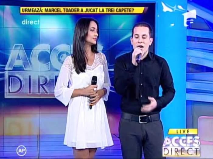 Ileana Popescu şi Mădălin Preda, un duet care a emoţionat sute de mii de oameni! / Video