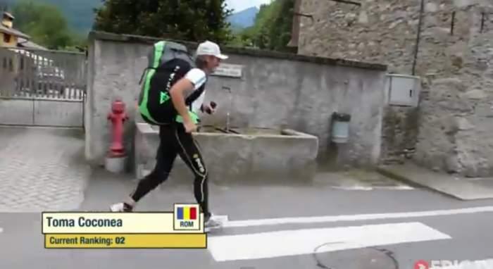 Uite ce face un român cu parapanta în cea mai grea competiţie de aventură din întreaga lume! Ai avea curajul să faci asta?