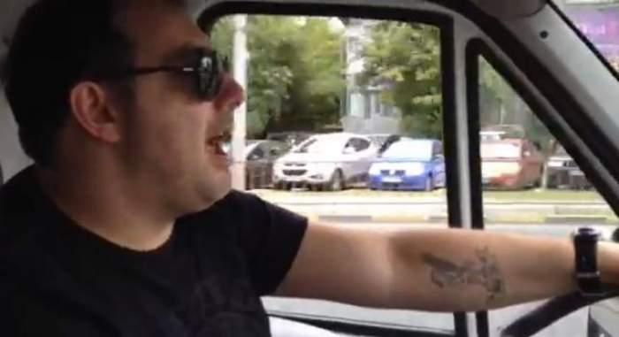 """Silviu Andrei """"o arde"""" pe olteneşte la volan! VIDEO"""