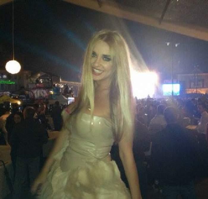 Tania Budi, într-o rochiţă superbă! Vezi detaliul care i-a stricat imaginea blondei!