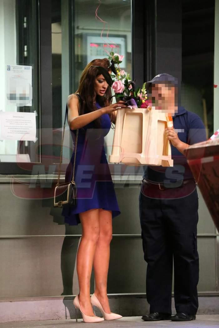 Bianca, primeşti flori în miez de noapte de la Adrian Cristea? Bileţelul a pus-o pe gânduri!