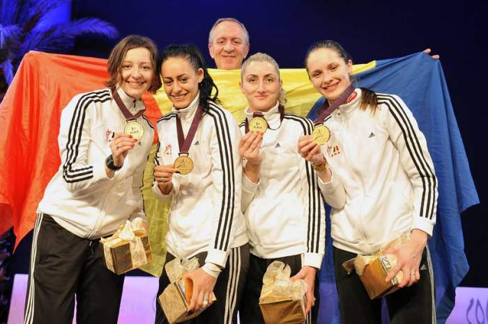 Frumoase, talentate şi campioane! Uite cât de sexy sunt spadasinele care au obţinut aurul pentru România!