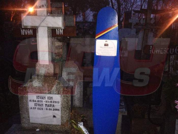 Detalii tulburătoare! Adrian Iovan şi-a pregătit mormântul anul trecut şi l-a vizitat înainte de accident!