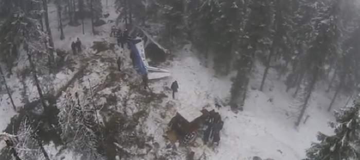 VIDEO Ce au văzut pasagerii în momentul în care s-au prăbuşit în Apuseni! Imagini cutremurătoare din locul în care Adrian Iovan a murit