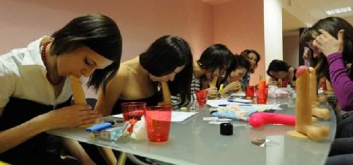 FOTO! În Chişinău se fac cursuri practice de sex oral! Ai vrea să iei şi tu astfel de lecţii?