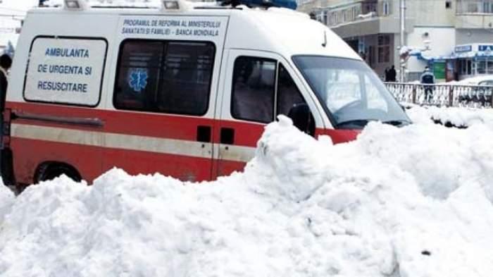 Prima victimă făcută de ninsoare! Un bărbat, găsit mort şi îngheţat sub zăpadă