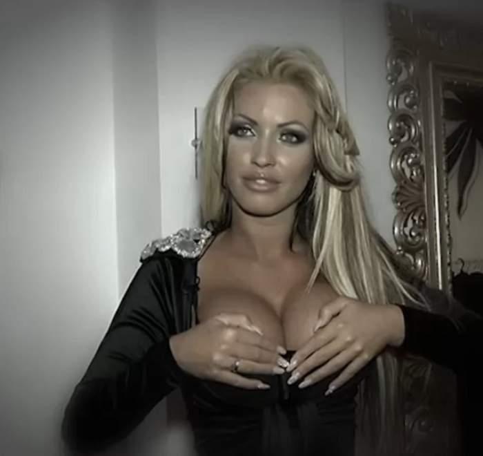 VIDEO Loredana Chivu, cu sânii la vedere! Atenţie, imagini EXCITANTE!