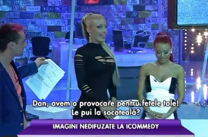"""VIDEO Loredana Chivu şi Ana Maria Mocanu, scene nedifuzate până acum la TV! Uite scene INCENDIARE din culisele """"I Comedy"""""""