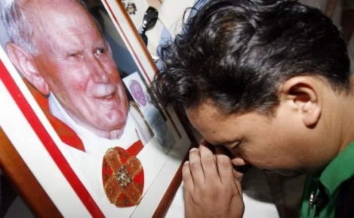 Diavolul nu are stare! Sângele Papei Ioan Paul al II-lea a fost furat dintr-o biserică italiană! Se pare că un grup de satanişti este implicat