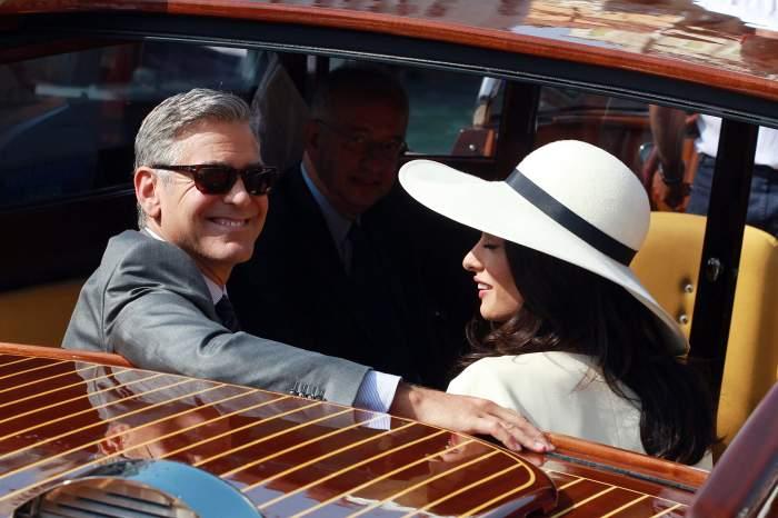 George Clooney, gest impresionant! A donat banii pe care i-a câştigat la nuntă!