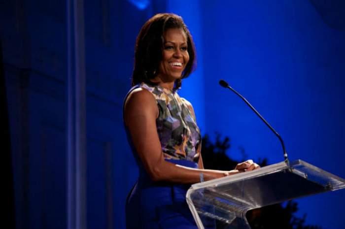 VIDEO / Michelle Obama, într-o ipostază neobişnuită! Prima Doamnă dansează cu un... nap