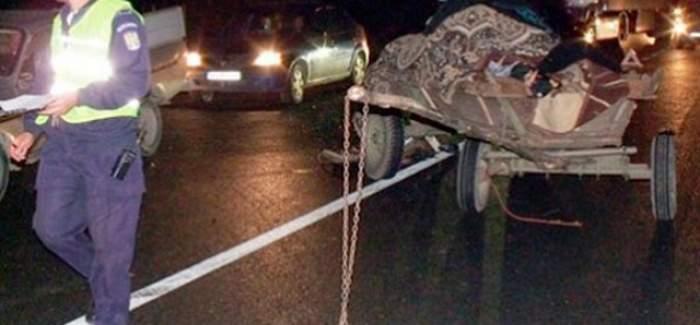 Accident grav! Un senator PSD a ajuns la spital după ce maşina lui a fost izbită de o remorcă