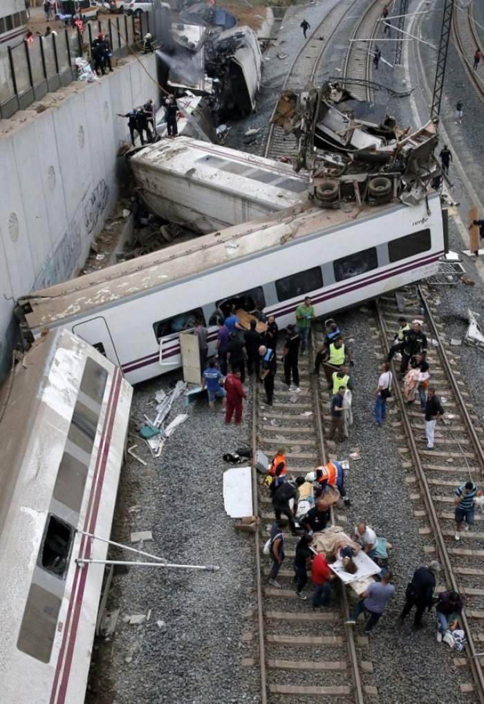 Tren deraiat la Băile Herculane! Ce s-a întâmplat cu pasagerii după incident