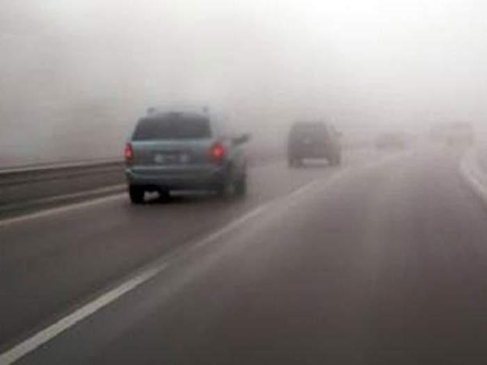 COD GALBEN de ceaţă! Care sunt zonele vizate