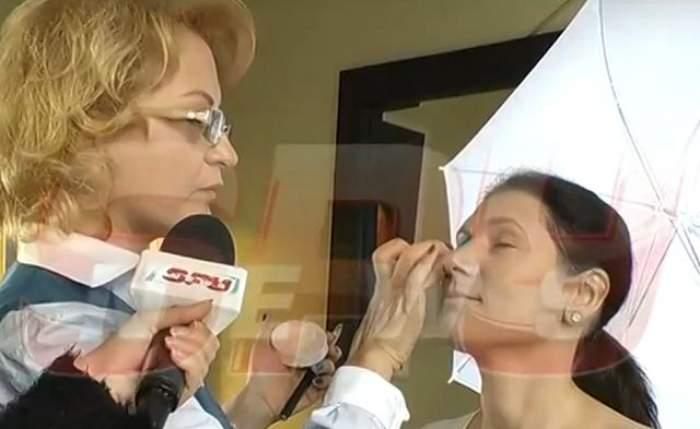 VIDEO / Mirela Vescan te învaţă să te machiezi corect! Aplică aşa pudra şi nu vei arăta ca şi cum ai făină pe faţă