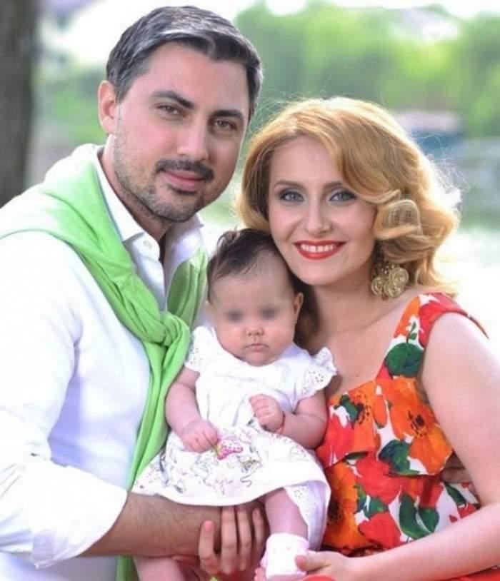 Ce mare s-a făcut fetiţa Alinei Sorescu! Uite cât de drăgălaşă este micuţa