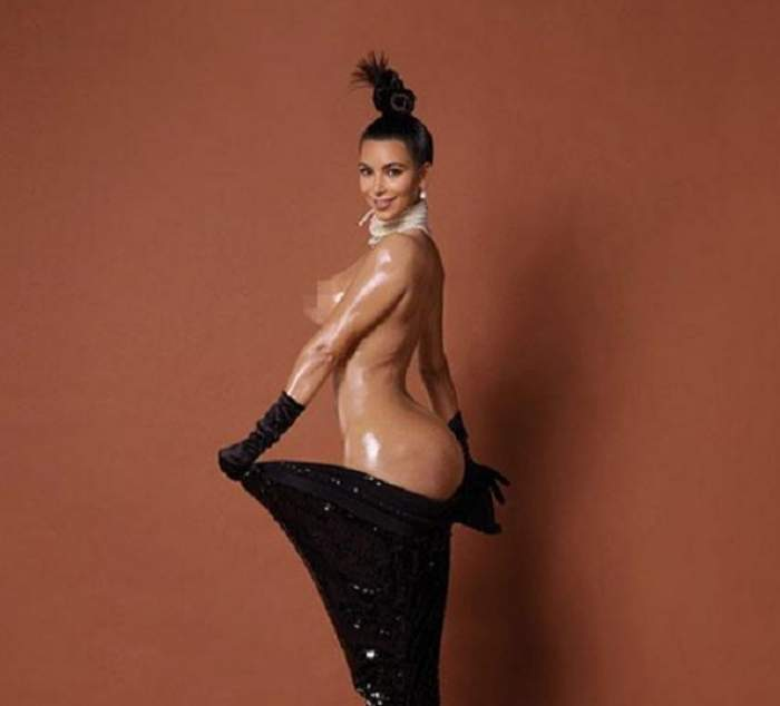 VIDEO / Posteriorul lui Kim Kardashian, bătaie de joc pentru internauţi! Imaginile pe care nu credeai că le vei vedea cu diva brunetă