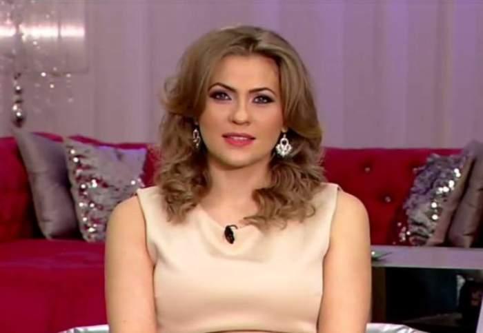 """Mirela Boureanu Vaida, o graviduţă sexy! Într-o rochie scurtă şi mulată, a strălucit în emisiunea """"Mireasă pentru fiul meu"""""""