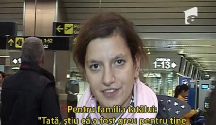 """CAZ SOCIAL - """"ACCES DIRECT""""  / Mesajul emoţionant pe care l-a transmis Emilia părinţilor biologici înainte de a pleca din ţară"""