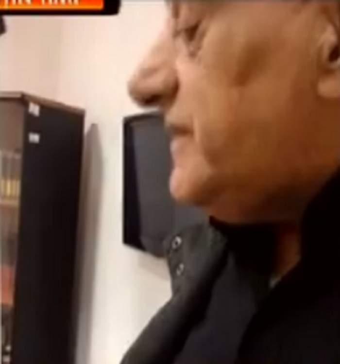 """VIDEO / Viorel Lis şi amantul Oanei, SCANDAL în culisele de la """"Acces Direct""""! Fostul edil a trecut la agresiuni fizice"""