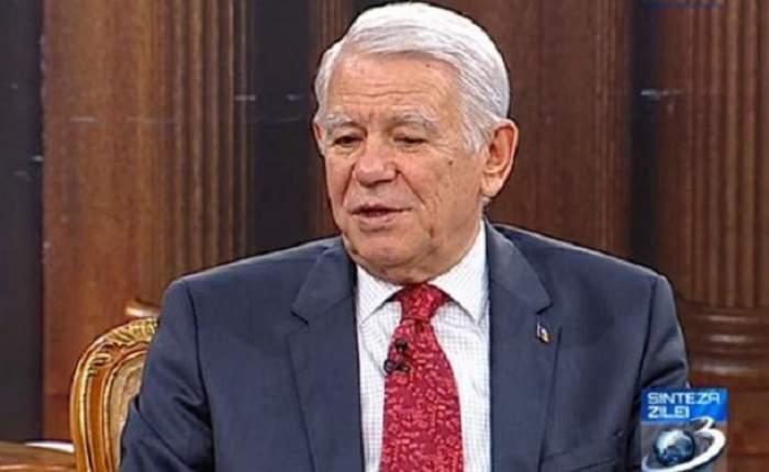 Teodor Meleşcanu şi-a dat DEMISIA din funcţia de ministru de Externe