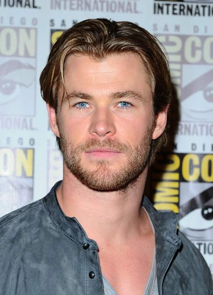 Actorul Chris Hemsworth a fost desemnat cel mai sexy bărbat în viaţă de către revista People