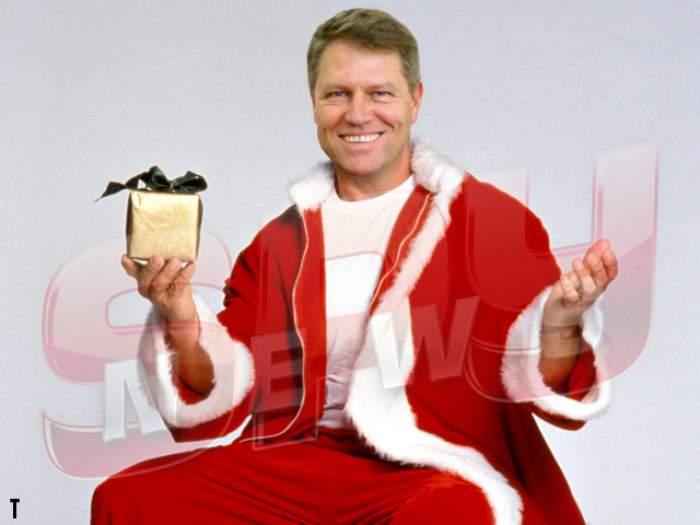 "SPYNEWS a aflat cum s-a pricopsit noul preşedinte cu porecla ""Santa Klaus""!"