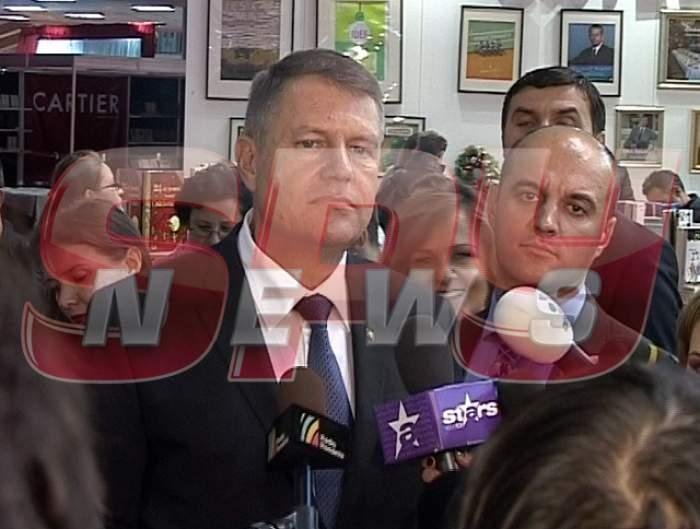 VIDEO / Klaus Iohannis a vorbit în EXCLUSIVITATE despre sondajul de opinie de pe SPYNEWS! Îşi va schimba preşedintele numele sau nu?!