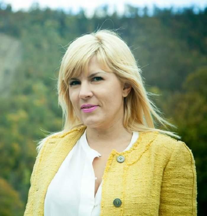 Elena Udrea, elegantă în ziua votului! Ce ţinută a purtat când s-a prezentat la urne