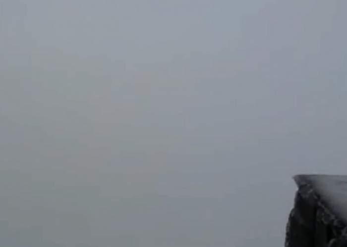 VIDEO/ Ninge ca în poveşti în România! Stratul de zăpadă a atins deja 20 de centimetri