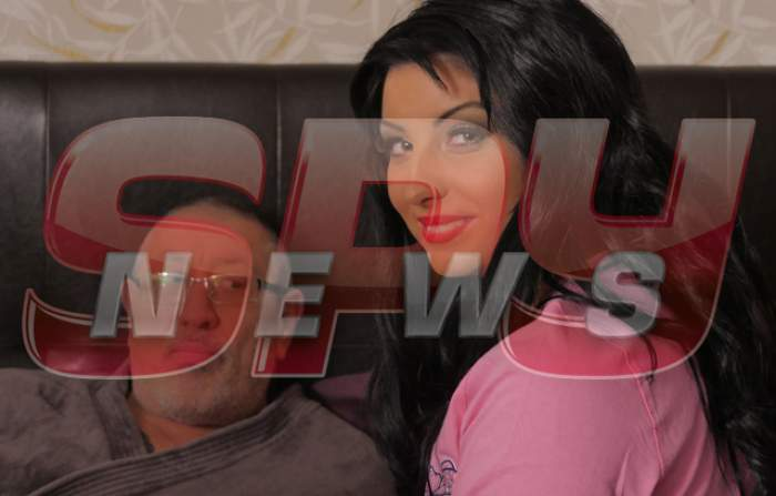 VIDEO/ Serghei Mizil, în pat cu o brunetă focoasă!
